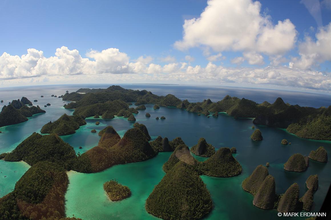 Wayag lagoon, Raja Ampat, Indonesia