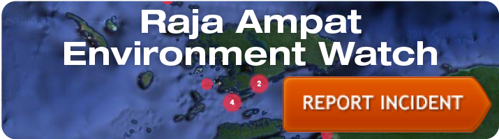 Raja Ampat Environmental Watch - Report Incident