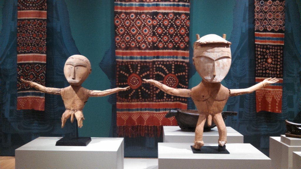 Two Figures of Creator Diety from Waigeo