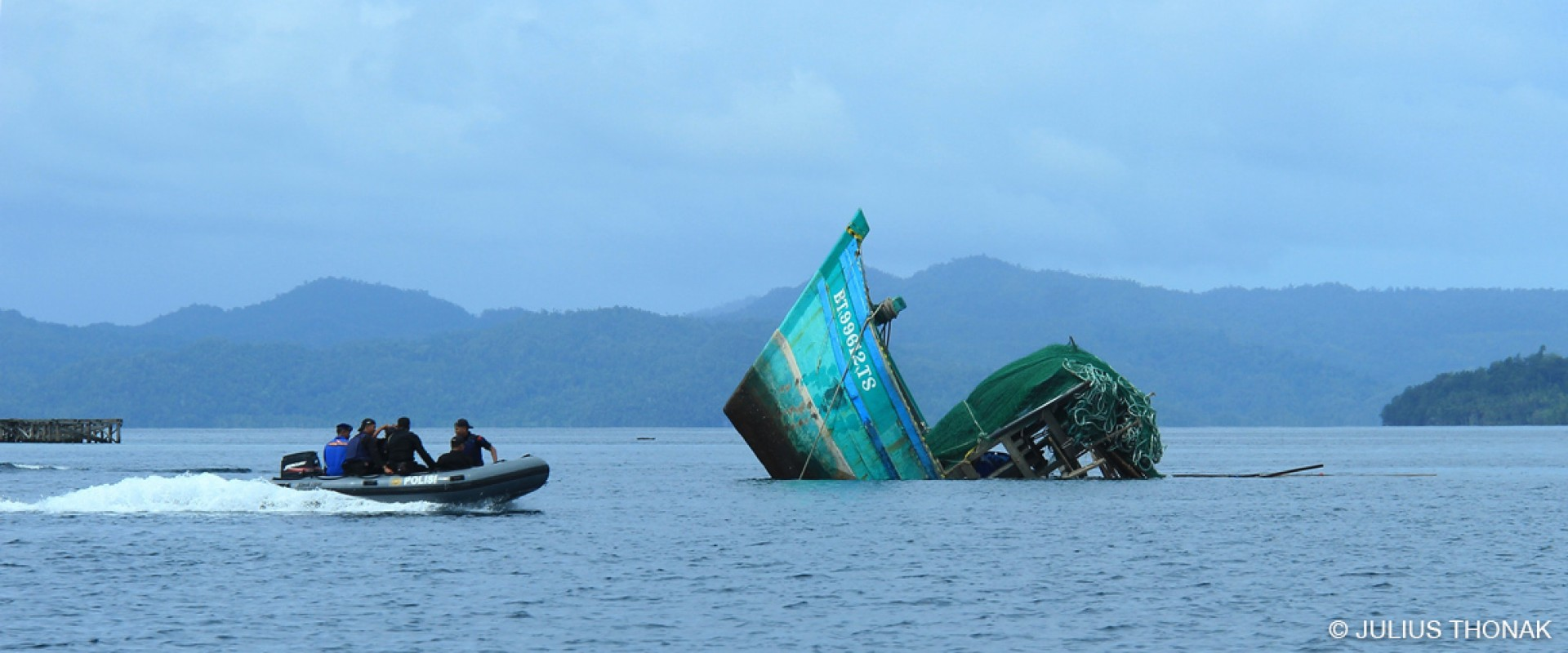 Bird's Head Seascape Indonesian Government Sinks Vietnamese