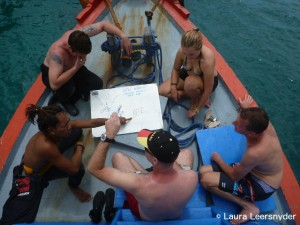 Planning the Dive