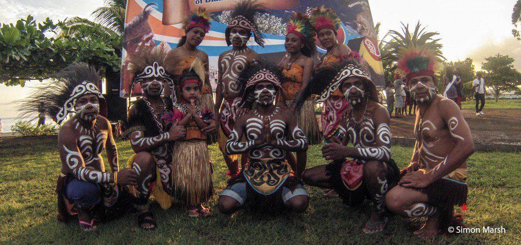 Dancers at Biak Festival