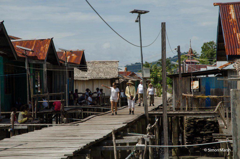 Exploring Yende village
